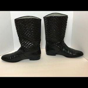 Lorenzo Banfi_Leather_ Black Boots